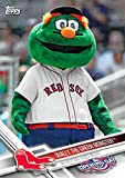 2017 Topps Opening Day Baseball Mascots #M-24 Wally the Green Monster Red Sox