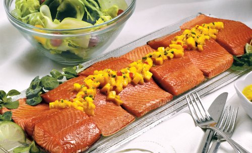 Wild Alaskan Coho Salmon: 6 Oz Dinner Fillets (Six 6 oz dinner fillets)