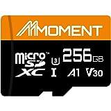 【Amazon.co.jp 限定】モーメント(Moment) microSDXCカード256GB A1 UHS-I(U3) V30 Class10対応 4K ULTRA HD対応 最大読出速度100MB/s 永久保証