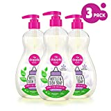 DAPPLE Baby Bottle and Dish Liquid is a lavender-scented dish liquid that is perfect for cleaning baby bottles, sippy cups, pacifiers and breast pump components. The baby liquid soap features award-winning green technology to target milk residue a...