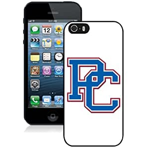 Beautiful And Popular Designed With NCAA Big South Conference Presbyterian Blue Hose 3 Protective Cell Phone Hardshell Cover Case For iPhone 5S Phone Case Black