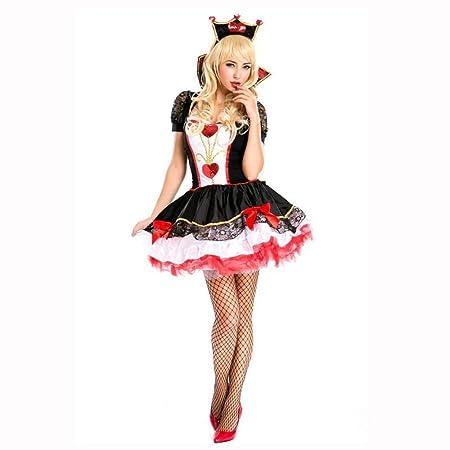Yunfeng Halloween Bruja Disfraz para Mujer Disfraz de Demonio de ...