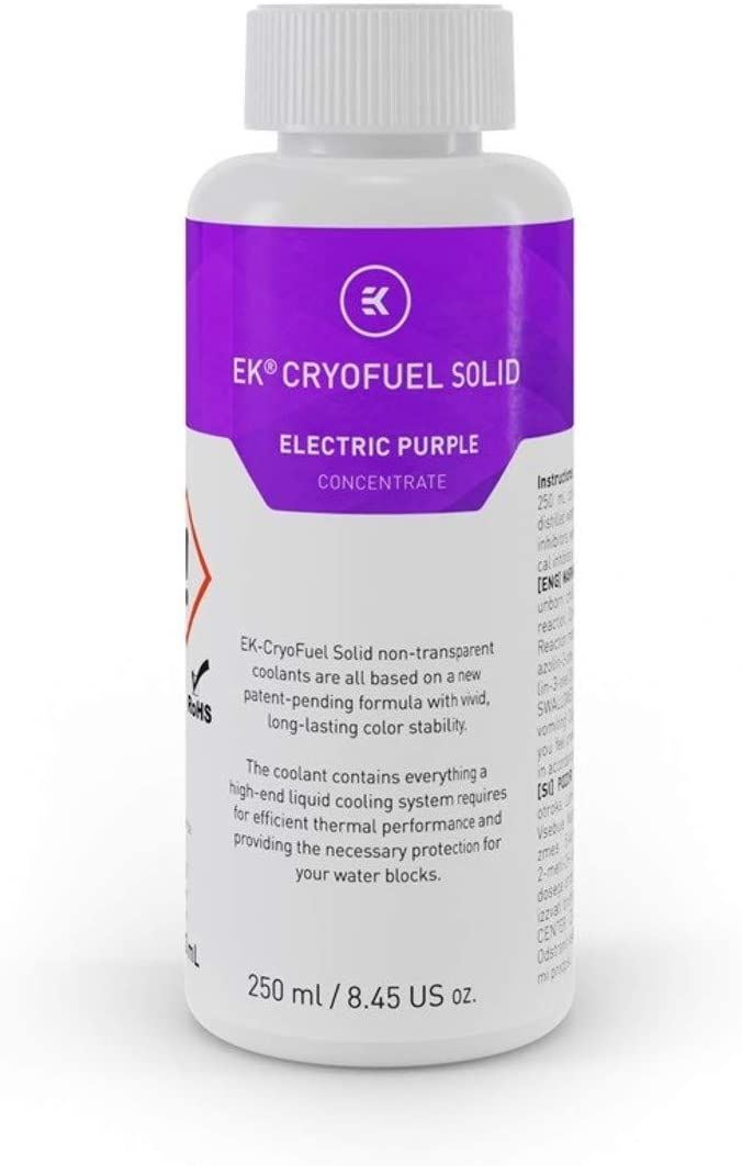 EKWB EK-CryoFuel Solid Concentrate Coolant, 250mL (Electric Purple)