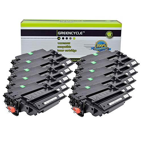 GREENCYCLE Compatible 11X Q6511X Toner Cartridge Replacement for HP Laserjet 2400 2410 2410N 2420 2420D 2420N 2420DN 2420DTN 2430 2430N 2430TN 2430dtn Page Yield up to 12000 Pages (Black,10 Pack) 2420 2430 Series High Yield
