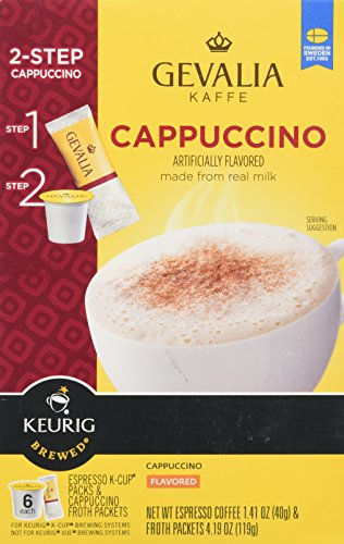 gevalia cappuccino milk - 2