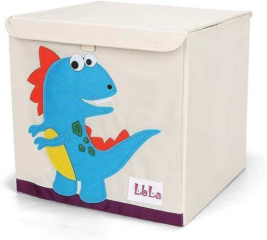 LBLA Caja de Juguetes y Almacenamiento con Tapa,Para niños y niñas ...