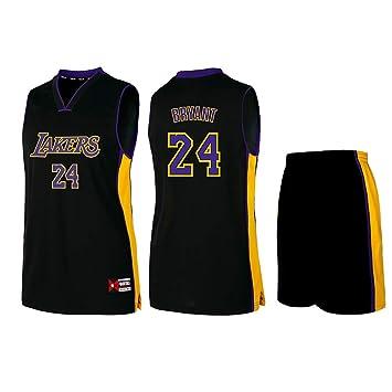Camiseta de Baloncesto Lakers Lebron James Kobe Bryant Fans de la NBA para niños y Adolescentes Adultos, Kobe-Black, 4XL(180-185CM): Amazon.es: Deportes y ...