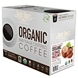 natural flavored coffee - Barrie House Fair Trade Organic Ultimate Hazelnut Single Serve Capsules (48 Capsules)