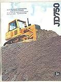 1980 John Deere JD750 Crawler Bulldozer Brochure