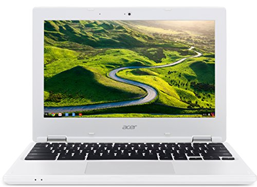 Acer Chromebook 11 (CB3-131-C1CA) 29,5 cm (11,6 Zoll HD) Notebook (Intel Celeron N2840, 2GB RAM, 16GB eMMC, Intel HD Graphics, Google Chrome OS) weiß