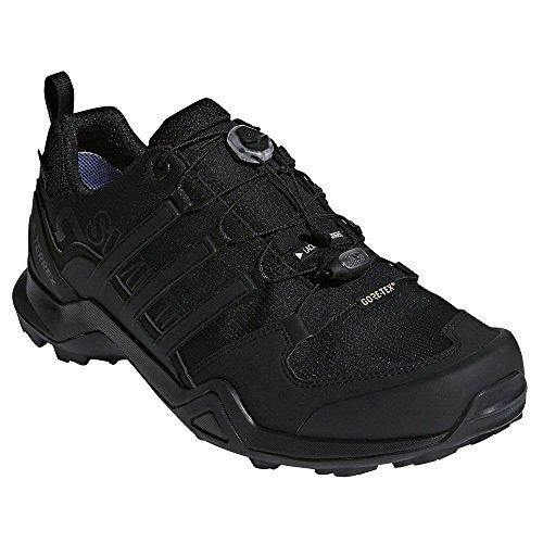 adidas outdoor Terrex Swift R2 GTX Mens Hiking Boot Black/Black/Black, Size 9 ()
