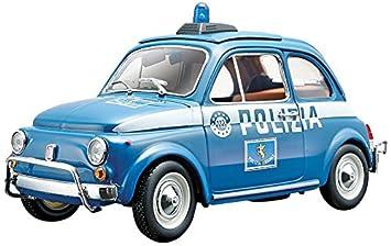 Bburago Fiat 500 Polizia 1 2 Amazon Co Uk Toys Games