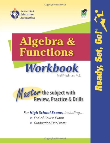 Algebra and Functions Workbook (Mathematics Learning and Practice)
