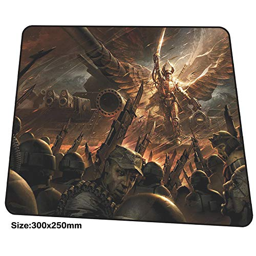 Price comparison product image XIAOXIANNV Warhammer 40K Mousepad 300X250X3Mm Gaming Mouse Pad Big Gamer Mat Hd Pattern Game Computer Desk Padmouse Cool New Play Mats