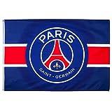 PSG - Official Paris Paris Saint-Germain Flag - Blue, Red
