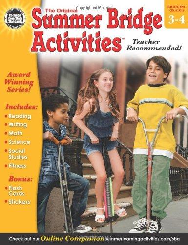 Summer Bridge Activities®, Grades 3 - - Activities Summer List