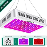 1000W LED Grow Light Full Spectrum,Yehsence (15W LED) 3 Chips LED Growing Light Fixtures with UV&IR for Indoor Plants Veg and Flower/Replace HPS Grow Light Fixture Review
