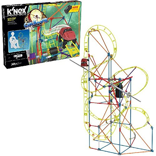 Knex Thrill Rides   Clock Work Roller Coaster Building Set   305 Pieces   For Ages 7  Engineering Education Toy
