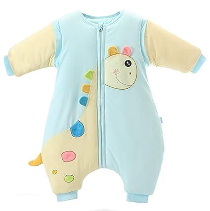 Saco de dormir para bebés Otoño e invierno Saco de dormir recién nacido para interiores cálido