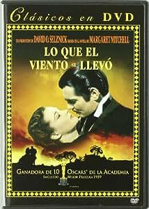 Lo Que El Viento Se Llevó [DVD]