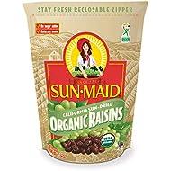 Sun-Maid Organic Raisins - Dried Fruit Snacks - Healthy Snacks For Kids - 32oz (One 2 LBS Resealable Bag)
