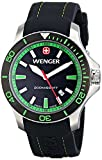 Wenger Men's Sea Force Watch with Silicone Bracelet
