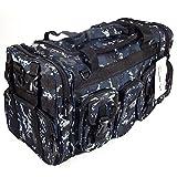 NPUSA Mens Large 22' Duffel Duffle Military Molle Tactical Gear Shoulder Strap Travel Bag