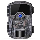 APEMAN Trail Camera 16MP 1080P Wildlife Camera, Night Detection Game Camera with No