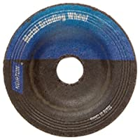 Norton Gemini Flexible Blending Depressed Center Abrasive Wheel, Type 27, Aluminum Oxide
