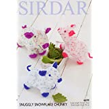 Sirdar 4699 Knitting Pattern Novelty Toy Animal Pig in Snuggly Snowflake Chunky by Sirdar