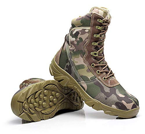 HCBYJ Schuhe Wear-Resistant Waterproof Stiefel Stiefel Stiefel Magnum Camouflage high-tech Tactical Combat Stiefel Outdoor Climbing 73a15e