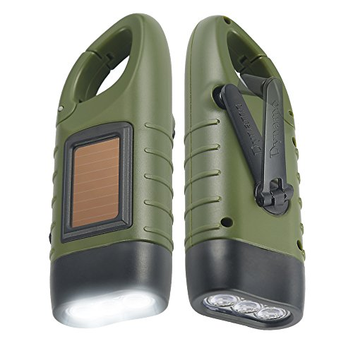 Simpeak Crank Powered Rechargeable Flashlight
