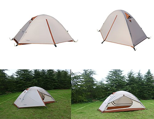 Luxe-Tempo-Single-1-Person-Tent-4-Season-  sc 1 st  Discount Tents Nova & Luxe Tempo Single 1 Person Tent 4 Season 2 Doors with Footprint Freestanding for Camping High-end Silnylon Backpacking Tent 2 Vestibules