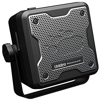 Uniden (BC15) Bearcat 15-Watt External Communications Speaker. Durable Rugged Design, Perfect for Amplifying Uniden Scanners, CB Radios, and Other Communications Receivers: Car Electronics