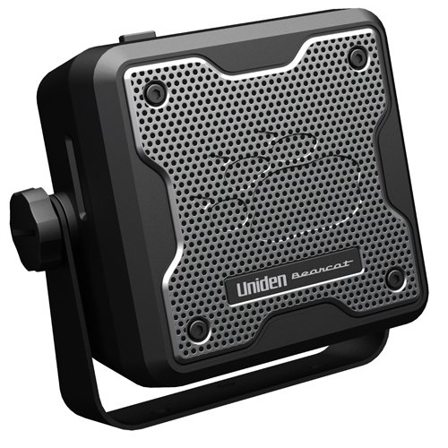 Uniden (BC15) Bearcat 15-Watt External Communications Speaker. Durable Rugged Design