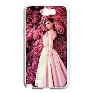 Chinese Audrey Hepburn Customized Phone Case for Samsung Galaxy Note 2 N7100,diy Chinese Audrey Hepburn Case
