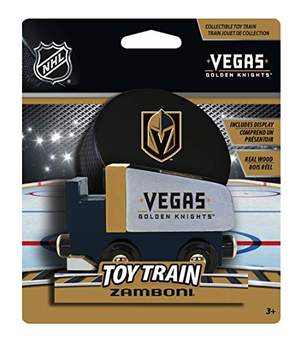 MasterPieces NHL Vegas Golden Knights Vegas Knights Zamboni Wood Train