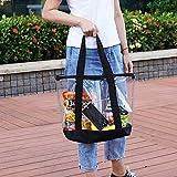Large Clear Tote Bag, Fashion PVC Shoulder Handbag