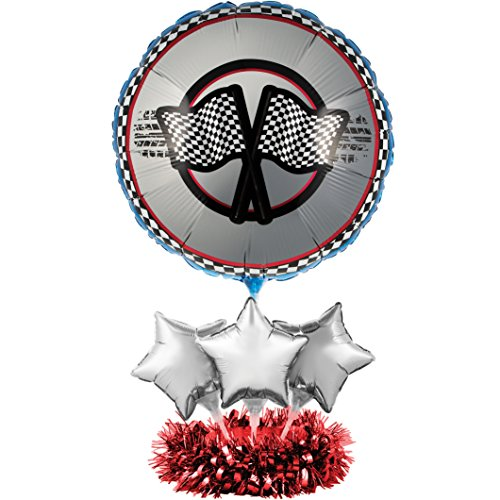 Balloons Racing (Creative Converting Balloon Centerpiece Kit, Racing)