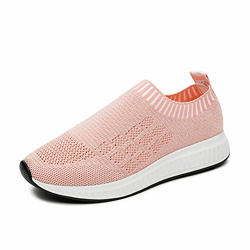 da Adattano Le da Indossano Fly Gara Rosa e Calze a Donna Si YTTY Tutte Fashion Sneakers Scarpe wTI0z0