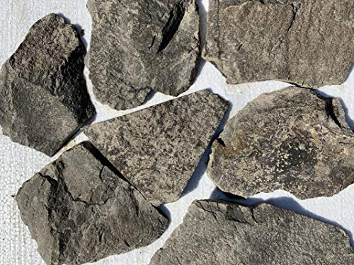 Rock Lava Countertops - Set of 50 SQFT-Tuscan Ashlar-Lava Rock-Random Size