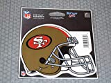 WinCraft San Francisco 49ers Official NFL 4.5 inch x 6 inch Car Magnet by 234346