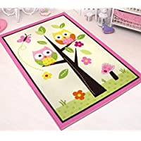 HUAHOO Kids Rugs Girl Bedroom Home Textile,Unique Cartoon...