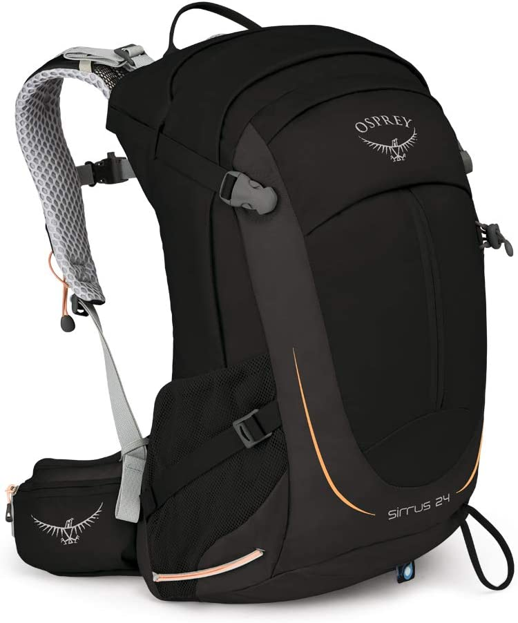 Black One Size Osprey Tempest 40 Womens Rucksack Hiking Backpack