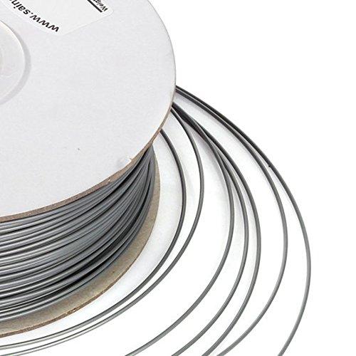 SainSmart-175mm-ABS-Filament-1kg22lb-for-3D-Printers-Silver