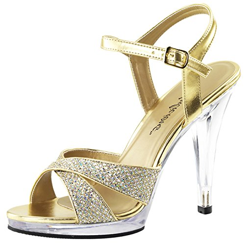 Fabulicious - Always in the Spotlight Plateau Sandalette Flair-419(G)