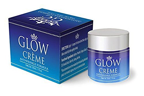 Glow Creme- Anti Wrinkle Formula- For Daily Use- 30/ml 1oz For Sale