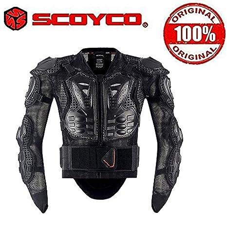 f12880eb7ef Scoyco CE Certified Body Armor Jacket for Bike Riding (Size-42 ...
