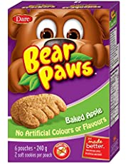 Bear Paws Dare Baked Apple Cookies, 6 Pouches per Box
