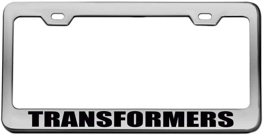 YEX Transformers License Plate Frame Car Tag Frame Auto License Plate Holder 12 x 6